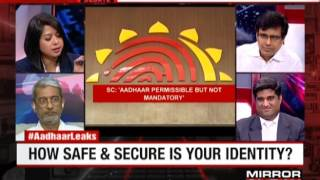 Sharing my Panel discussion on How safe secure is your Aadhar identity