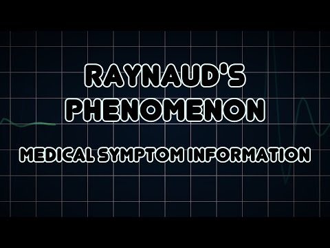 Video Raynaud's phenomenon (Medical Symptom)