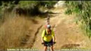 preview picture of video 'Mountain biking. Israel. VelikKids. Покатушки форумчан velik.org с детьми.'
