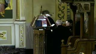 Holy Friday Service of the Lamentations 4/26/19 Assumption Greek Orthodox Church of Chicago, IL