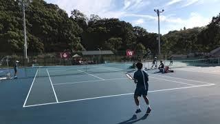 平成30年度全日本大学対抗テニス王座決定試合男子決勝戦ダイジェスト