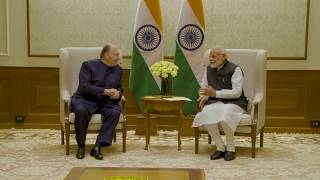 His Highness the Aga Khan meets with Narendra Modi, Prime Minister of India
