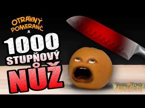 Otravný Pomeranč - 1000 stupňový nůž - Fénix ProDabing