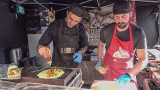 """Colourful Italian """"Piadina"""" Wrap. London Street Food"""