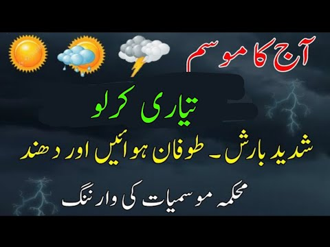 Today January 23 detail weather | Rains fog snow fall and winds update | Pakistan weather forecast