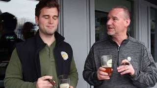 THE MORNING BUZZ | THE CAP N' CORK LOUNGE | County Heritage Spring Blossom Rose and Cigar City Brew
