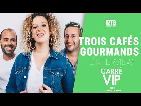 """Trois Cafés Gourmands"""", L'interview dans Carré Vip sur RTS FM"""