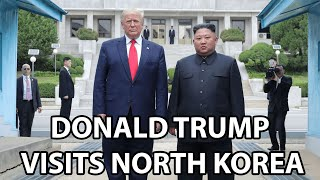 "Donald Trump Becomes The First Sitting US President to Step Foot in North Korea | FT. ""Rocket Man"""