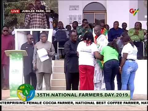35th Ghana's Farmers Day Awards Ho [Ashanti Region winners 2019]