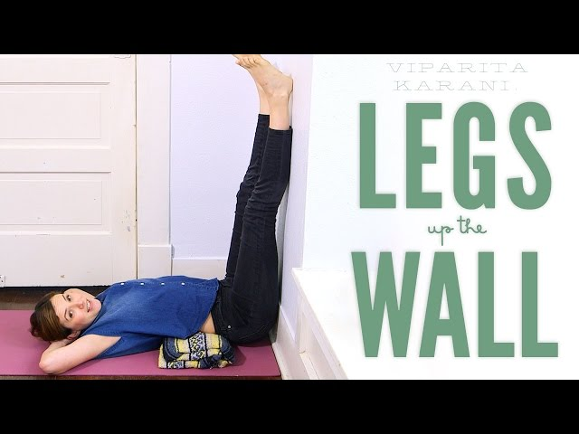Legs Up The Wall – Foundations of Yoga