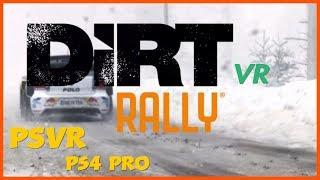 Dirt Rally VR - Night stage - Subaru Impreza 2001