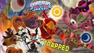 Trapping Light & Dark Villains Cutscenes & Portal Effects! w/ Bat Spin Skylanders Trap Team Gameplay