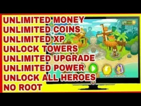 BLOONS TD 6 MOD APK 6 0 - ALL CHARACTERS UNLOCKED - UNLIMITED MONEY