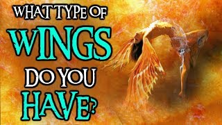 What Type Of WINGS Do You Have? | Angelic Personality Test