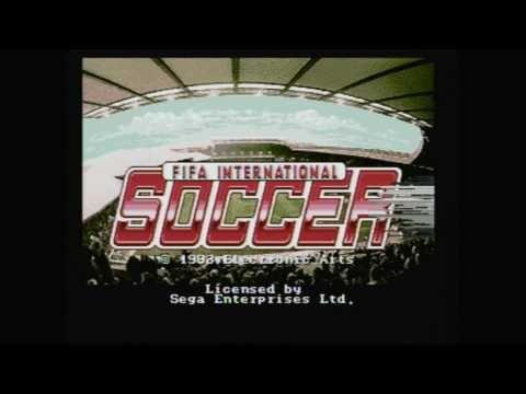 FIFA International Soccer Game Gear