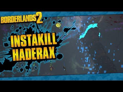 Borderlands 2 | How To Instakill Haderax With Maya