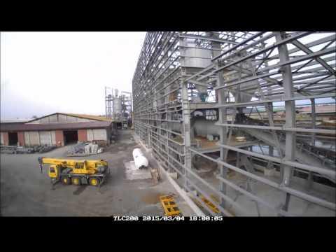 CONSTRUCTION DE L'USINE MEDCEM CAMEROUN