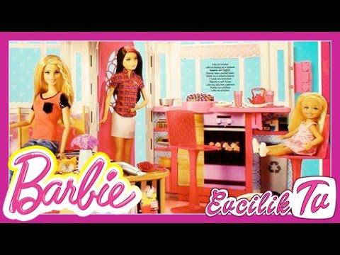 Barbie | Barbie Lüks Tatil Evi Oyuncak Tanıtımı | Evcilik TV Barbie Oyuncakları