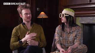 Louise Minchin interviews Billie Eilish & Finneas in world's first TV interview on new Bond theme