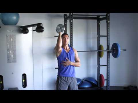 How to properly Single Arm Dumbbell Shoulder Press