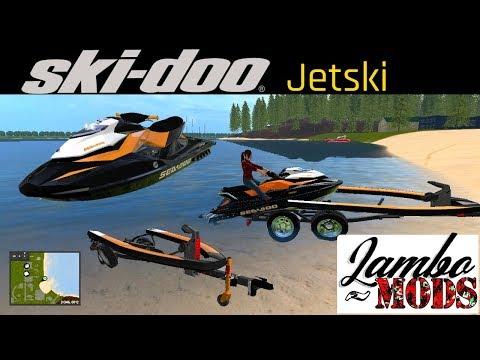 POLICE Jet ski Ski-doo GTR 215 v1 0 - Modhub us
