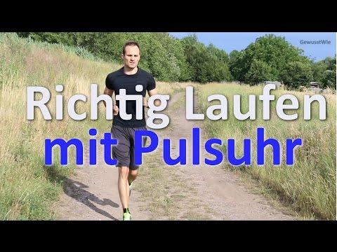 Richtig Laufen - Lauftheorie - Pulsuhr