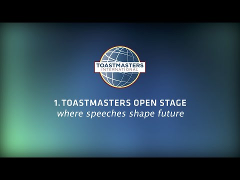 Toastmasters Open Stage