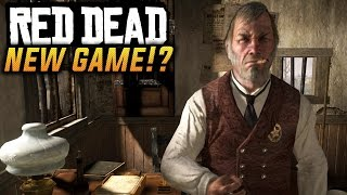 NEW RED DEAD GAME TEASED BY ROCKSTAR - Red Dead Redemption 2? (Rockstar Goes Red)