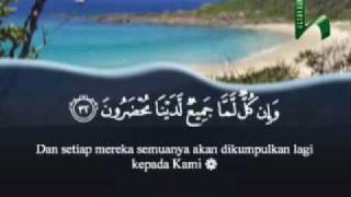 Surat Yasin 01 (Al-Qur`an Terjemahan Indonesia)
