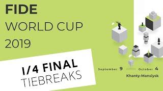 FIDE World Cup 2019. Round 5. Tiebreaks