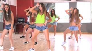 """Coreografia Da Música """"Dança Kuduro"""" (vista Frontal)  TKM Brasil"""