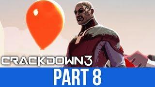 CRACKDOWN 3 Gameplay Walkthrough Part 8 - NGATA BOSS (Full Game)