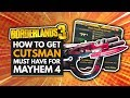 BORDERLANDS 3 | How to Get the CUTSMAN - Must Have For Mayhem 4