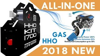 HHO KIT HHO X-Cell 2018 Save Fuel Cost 30% Real First Kit HHO No Need an HHO Installation Video