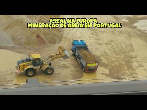 AREAL NA EUROPA - MINERAÇÃO DE AREIA EM PORTUGAL