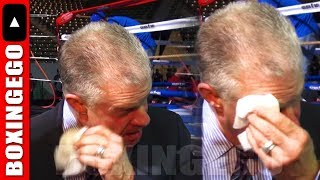 HBO BOXING TAPS OUT - SHOWTIME BOXING KO'S HBO BOXING - BOXINGEGO FAREWELL SPEECH (NEW MEDIA)
