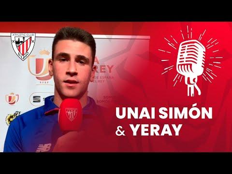 🎙️ Unai Simón y Yeray Álvarez | post Athletic Club 1-0 Granada CF | Copa del Rey 2019-20