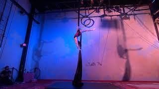Laura Emiola Aerial Artist - The Greatest Showman - Aerial Silks Act