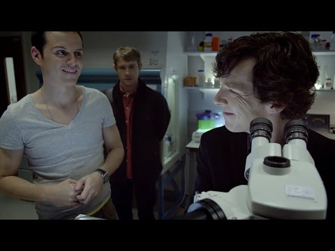 Sherlock Meets Jim Moriarty   The Great Game   Sherlock   BBC