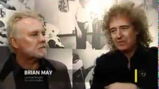 Stormtroopers In Stilettos Brian May & Roger Taylor ITV  News 24 Feb 2011