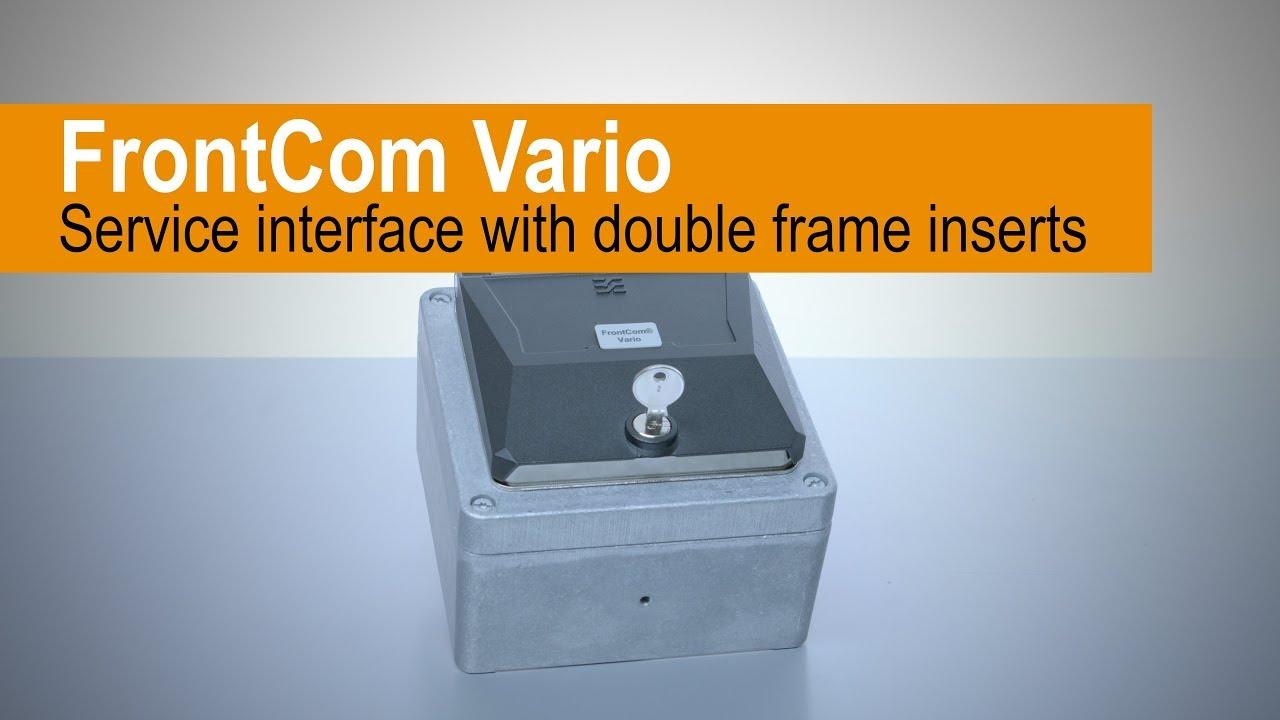 FrontCom® Vario Doppelrahmen