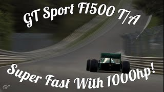 GT Sport F1500 T/A Gameplay! Super Hard To Handle?!