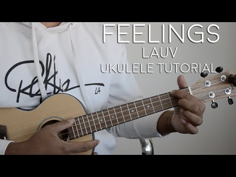 Download Feelings by Lauv Ukulele Tutorial Mp4 HD Video and MP3