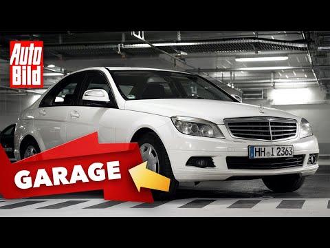 Mercedes C 180 K (2007) |Der 500.000 Kilometer-Benz |Garagen-Check mit Conny Poltersdorf