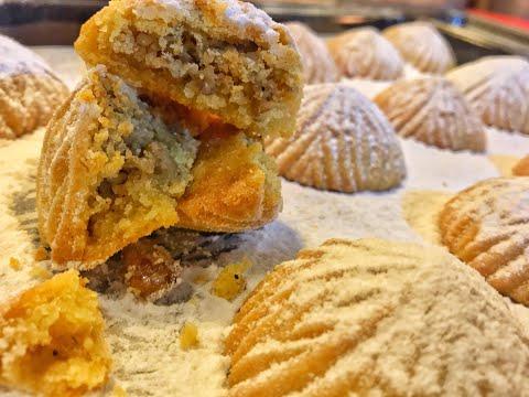 معمول العيد بالتمر والجوز | كعك العيدHow to make easter cookies- easter cookies recipe