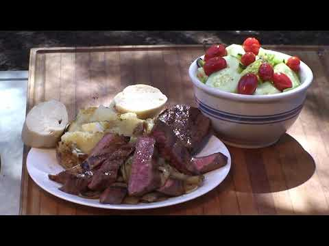 Round Roast Beef Steaks Recipe by the BBQ Pit Boys