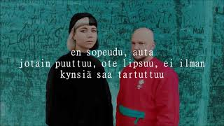 Pyhimys Ft. Vesta   Kynnet, Kynnet Lyrics