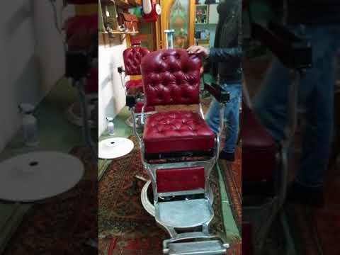 Sedie da barbiere vintage