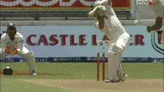 Classic India test match- 2006/07 2nd test South Africa vs India TWO HOURS!