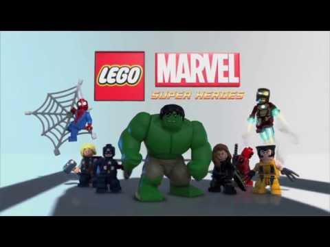 LEGO Marvel Super Heroes - CG trailer